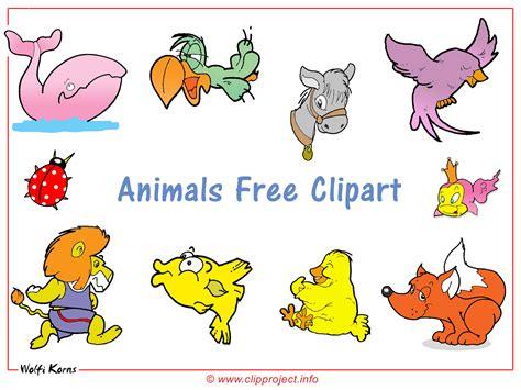 Tiere Clipart Hintergrundbild Kostenlos
