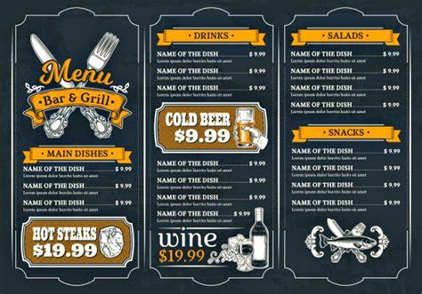 examples  techniques  designing food brochures