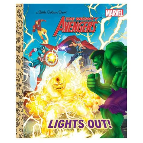lights out book marvel mighty lights out golden book