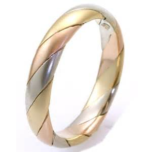 izyaschnye wedding rings wedding rings tri color
