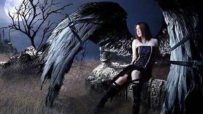 Angel Dark Wallpapers Outstanding Wallpapertag