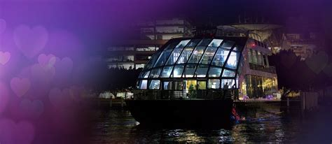 Glass Boat Sydney Harbour Cruise by Sensational Glass Boat Valentine S Day Dinner Cruise On