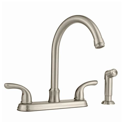 glacier bay kitchen faucets glacier bay builders hi arc kitchen faucet with joss