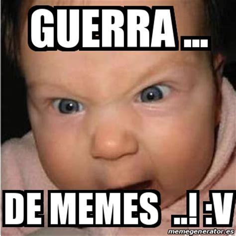 V Meme - meme bebe furioso guerra de memes v 19801609