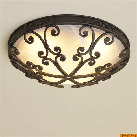 lights  tuscany   spanish style flush mount ceiling
