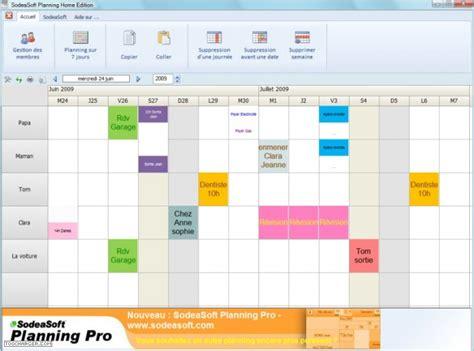 modèle planning hebdomadaire excel gratuit logiciel de gestion de planning du personnel gratuit
