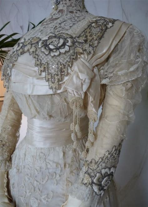 dempsey princess lace wedding gown antique bridal gown