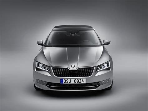 2015 Skoda Superb Revealed with Up to 280 HP and Class ...
