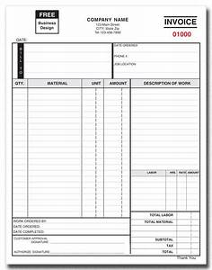 invoice form 751 2 part or 3 part products by industry With 2 part invoices