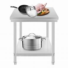 Commercial Kitchen Stainless Steel Food Work Prep Table