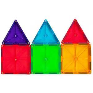magna tiles clear colors 100 set valtech magnatiles
