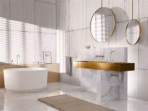 Miroir Rond Salle De Bain : miroir rond 10 mod les pour ma salle de bains ~ Nature-et-papiers.com Idées de Décoration
