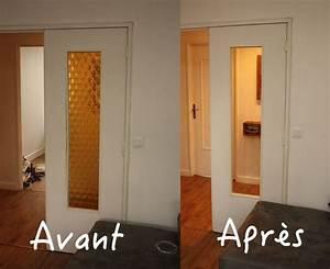 Vitre Pour Porte Intérieure : tuto changer des vitres sur une porte int rieure ~ Dailycaller-alerts.com Idées de Décoration