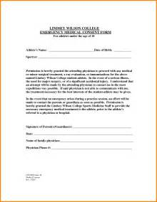Minor Medical Consent Form for Grandparents