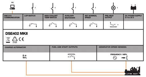 dse402mkii manual auto start modules dsegenset sea electronics