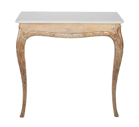 marble top sofa table gilt console table with white marble top at 1stdibs