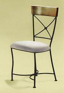 Chaise Fer Forgé : chaise fer forg eba assise paille ou tissu alki ~ Teatrodelosmanantiales.com Idées de Décoration