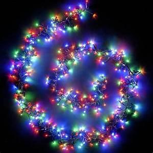 Led, Solar, String, Lights, -, 17m, 100, Multi-color, Leds
