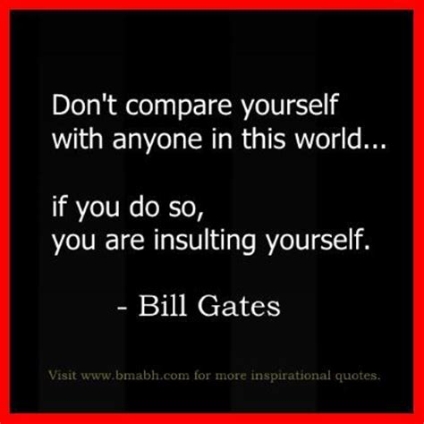 Dont Compare Yourself With Others Quotes Hitler