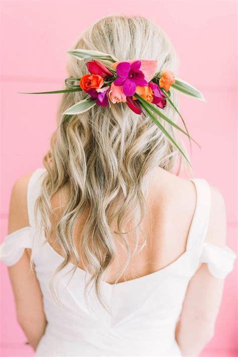 diy floral crowns sweet hairstyles in 2019 tropical
