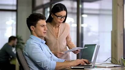 Civil Administrator Laptop Working Jobs Samenwerken Entering