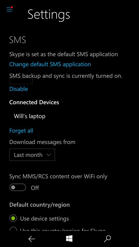 How Send Sms Messages Using Skype Windows Devices