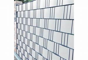 Farbe Ral 9010 : noor sichtschutzstreifen pvc 0 19x2 55m zaunblende hart farbe wei ral 9010 ~ Markanthonyermac.com Haus und Dekorationen