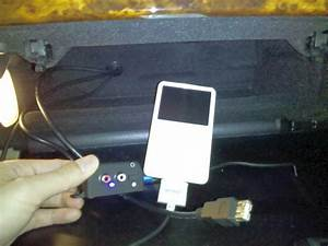 Removing Factory Ipod Adapter - Trouble