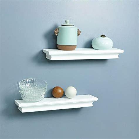 Small Ledge Shelf by Ahdecor Floating Wall Shelves Ledge Shelf White Set Of 2
