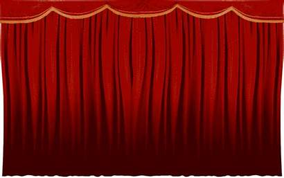 Curtain Opening Animated Digitals