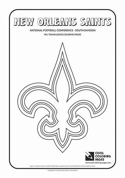Nfl Coloring Pages Logos Cool Teams Team