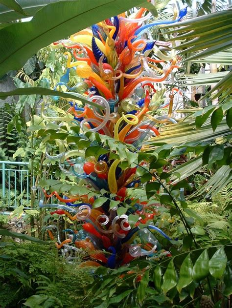 Botanischer Garten Oldenburg Flower Power by A Dale Chihuly Glass Sculpture At The Fairchild Tropical