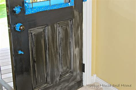 happy house and home painting the front door