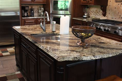 kitchen island with granite countertop design for granite kitchen countertops black