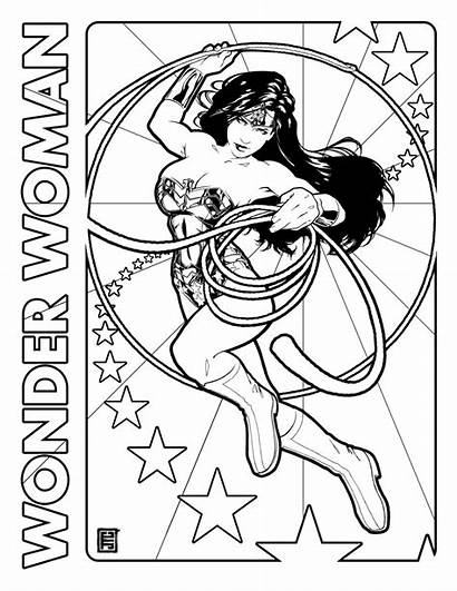 Coloring Wonder Woman Reference Miracole