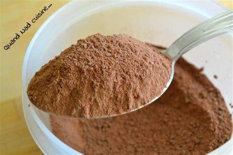 chocolat en poudre maison recettes et techniques de base
