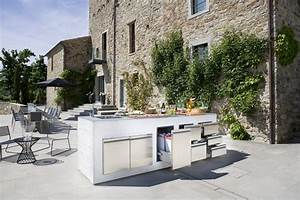 step out to enjoy the beauty modern outdoor kitchens With cuisine d ete moderne