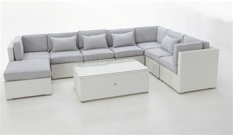sofa lounge terraza mobiliario chillout rattan