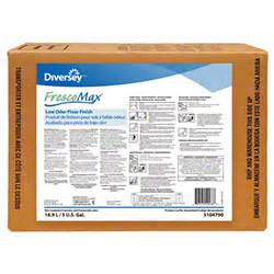 diversey frescomax 174 low odor floor finish 5 gal jansan usa