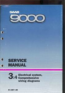 M 1987  3 4 Electrical System Wiring Diagram