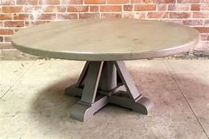 round coffee table with half phoenix pedestal With round coffee table pedestal base