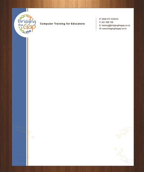 Letterhead Design For Bridging The Gap By Harmi199. Cover Letter For Receptionist Secretary. Best Resume Building Sites. Resume Cover Letter Examples For Operations. Curriculum Vitae Word Online. Free Resume Generator For Students. Quick General Cover Letter. Cover Letter Dental Receptionist. Curriculum Vitae Modelli Gratuiti