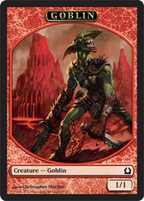 Goblin Token Commander Deck by Tokens Magic The Gathering