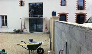 crepir un muret exterieur 11 enduire mur au rouleau evtod With crepir un muret exterieur