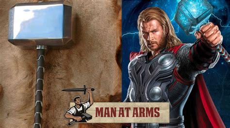 mjölnir thor the dark world man at arms the making