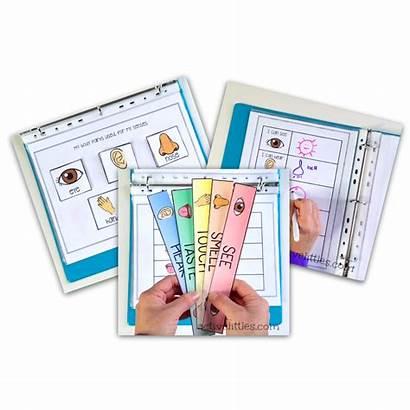 Binder Activity Senses Learning Preschool Active Interactive