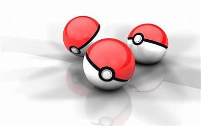 Ball Cartoon Pokemon Poke 3d Reflection Balls