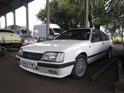 1986 White Opel Monza Raced By Guy Frequelin