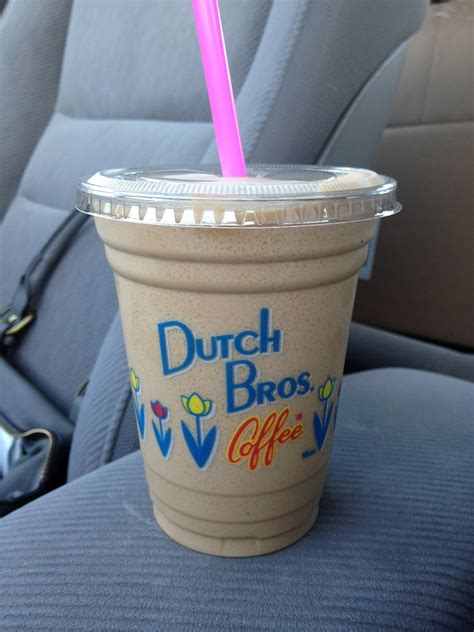 Here are the best coffee drinks, frozen drinks. Corrie Food: Dutch Freeze @ Dutch Bros. Coffee