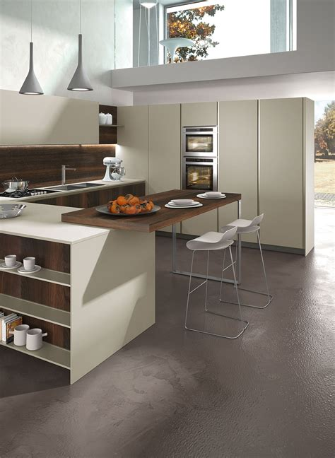 posh kitchen compositions fuse modularity  minimal